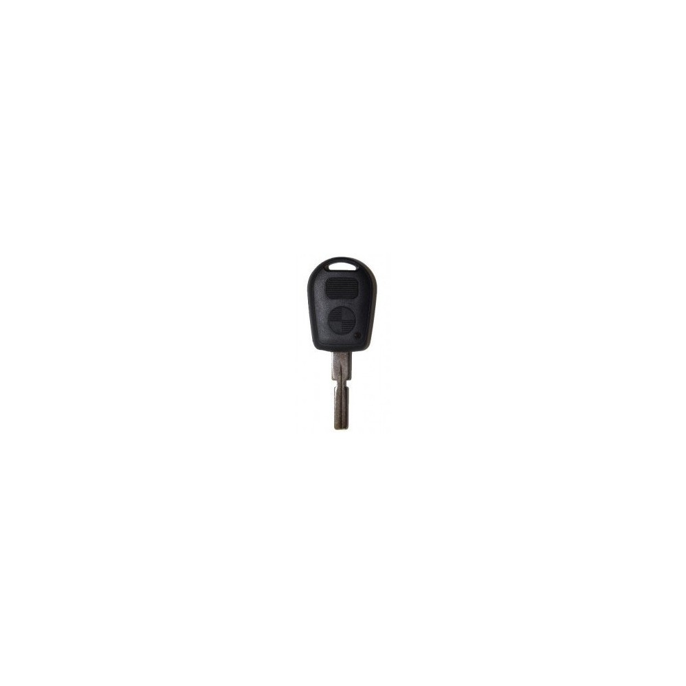 Coque de clé plip BMW  2 boutons E36, E38, E39, E46, Z3, Z4, X5 ou X3
