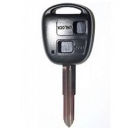 Coque clé Toyota 2 boutons