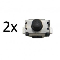 Bouton switch à souder 4mm peugeot