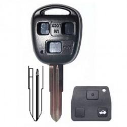 Coque clé Toyota/ Land cruiser 3 boutons Corolla, Celica, Rav4, Yaris Avensis