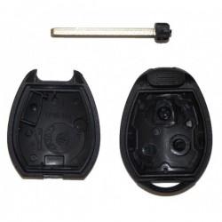 Coque de clé plip 2 boutons pour télécommande Mini Cooper S D One Clubman Cabrio