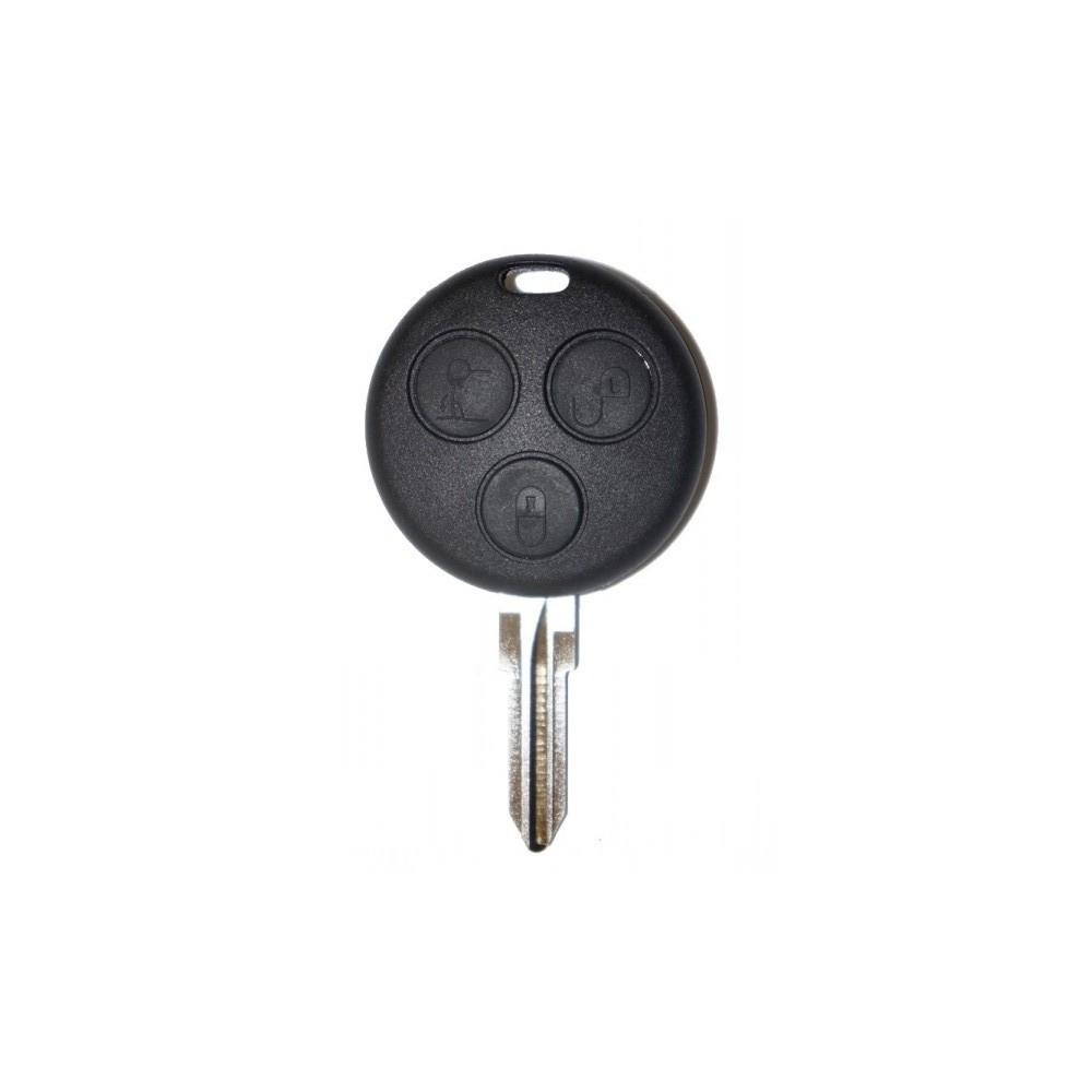 Coque de clé plip pour télécommande Smart Fortwo Forfour 450